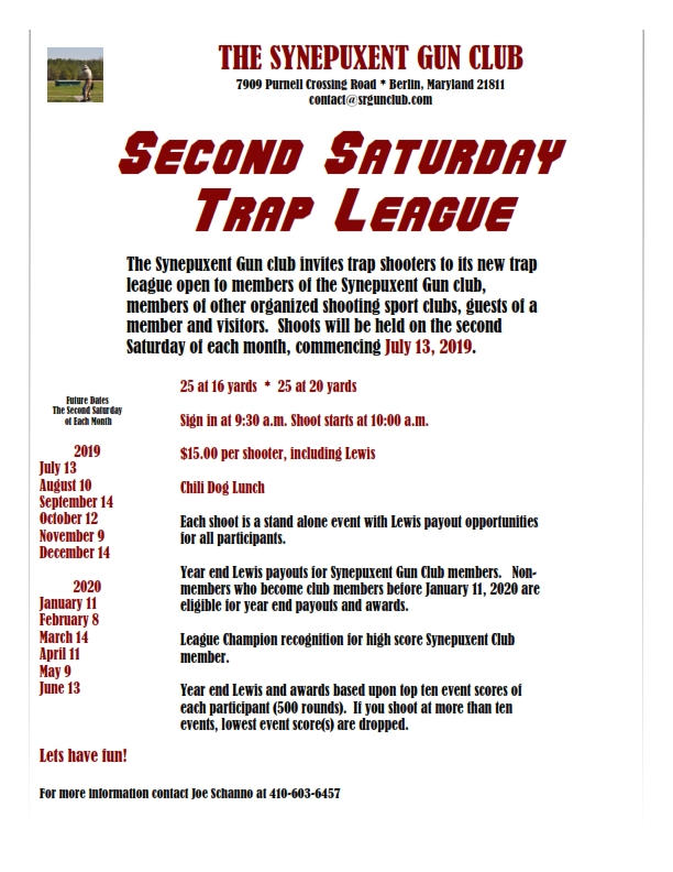 Second Saturday Trap League